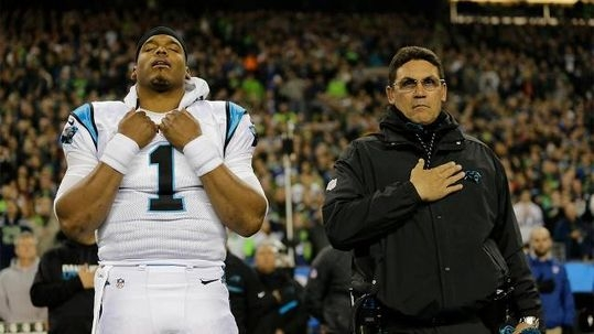 The Cam Newton Wardrobe Malfunction