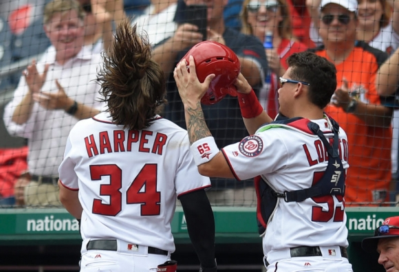 Nationals Go Deep Repeatedly Against Brewers