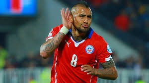 Arturo Vidal Carries Chile Close to Copa's Bracket
