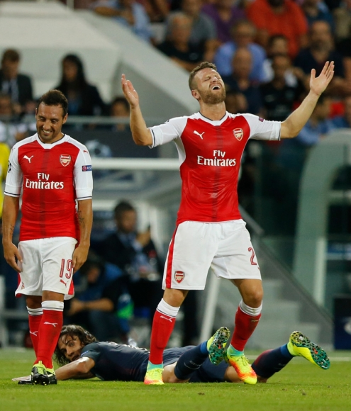 Another Late Salvo Saves Gunners