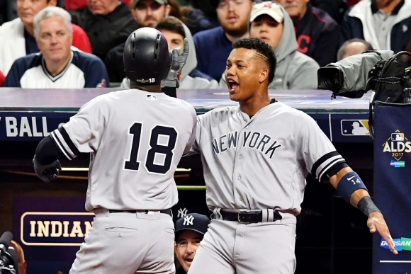ALDS: Didi Goes Deep Twice; CC Quiets Tribe; Yanks Advance