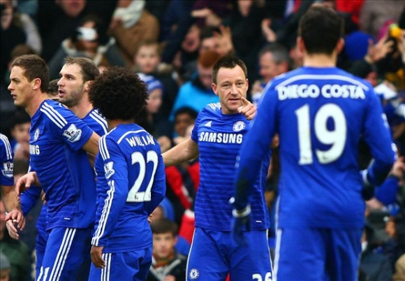Chelsea Ships Hammers on Boxing Day