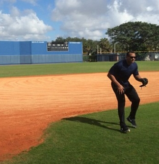 A-Rod's Working Out Daily at 3B for Some Reason