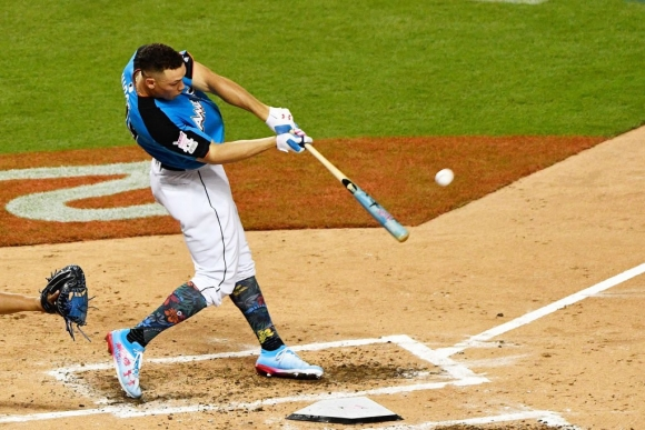 Aaron Judge Goes All NASA to Claim Home Run Derby