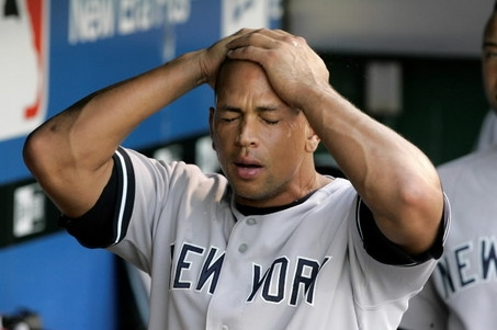 A-Rod Caught with His Foot in His Mouth