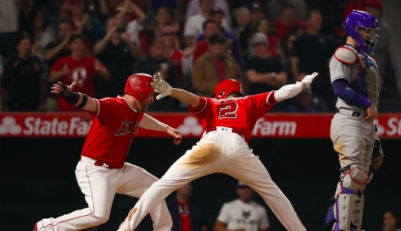 Angels Beat Dodgers in a Most Unusual Way