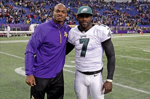 Peterson Thinks Vick Should Join Vikes