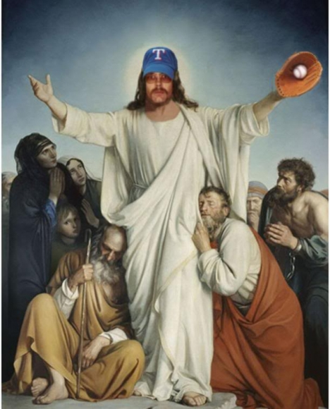 Your Angel in the Outfield: Josh Hamilton or Jesus Christ?