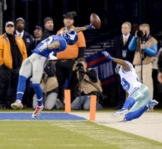 Beckham's Incredible TD Grab Is the Giants' Only Highlight