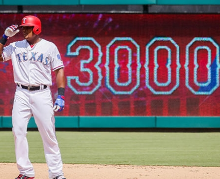 Beltré Joins 3000-Hit Club
