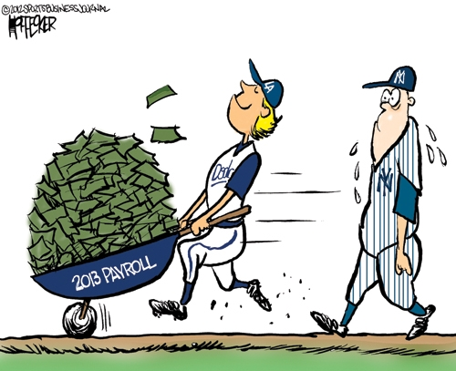 Big Spenders, Big Losers; A Baseball Tradition