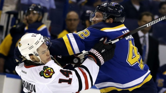 Blues Overcome Blackhawks in a Classic Game 7