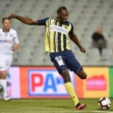 Usain Bolt's Officially a Pro Footballer; Pops a Pair of Goals in Oz