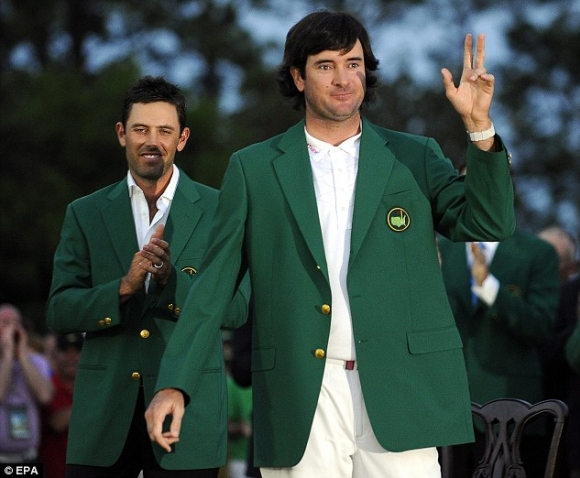 Double Bubba: Watson Now 2-for-3 at Masters