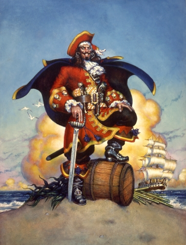Rum Chaser: Rookie's Captain Morgan TD Pose Gets Bucs All Pissed