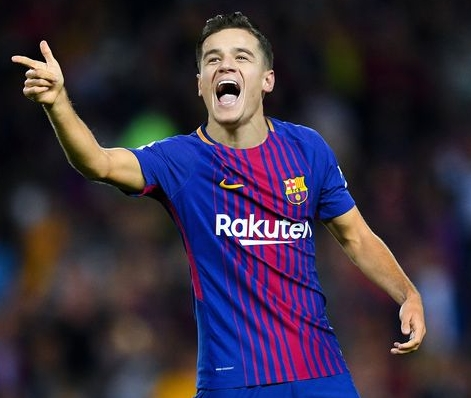 Barça Pay €142million for Coutinho to Replace Neymar