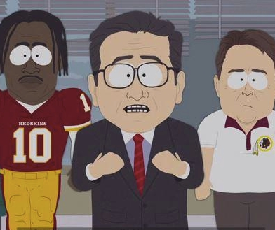 South Park Takes Totally Logical Shot at Dan Snyder
