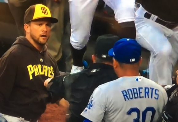 Andy Green and Dave Roberts Rumble in San Diego