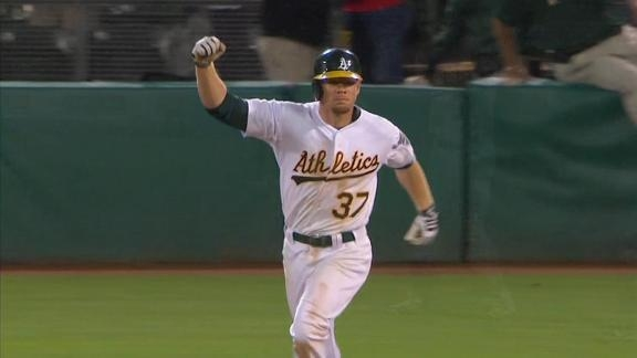 A's For Effort: Moss Goes Yard in Back-to-Back Days