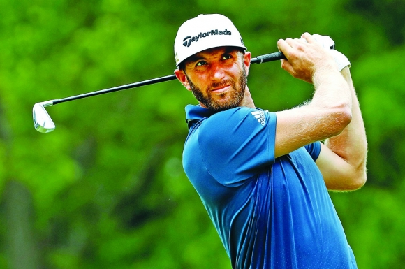 Dustin Johnson Laps Jason Day, Wins the Bridgestone