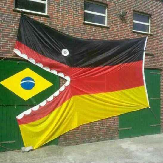 Germany 7 Brazil 1: Welcome to the Machine