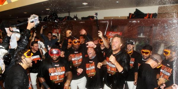 Giants Mop Up Sloppy Nats to Gain NLCS Again