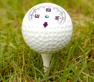 Even Pro Golfers Can Use a Compass