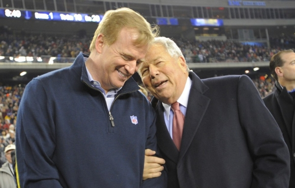 Kraft to the Commish: Who's Your Daddy?
