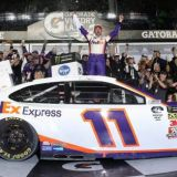 Hamlin Dashes Past Crashes for Emotional Daytona 500 Victory