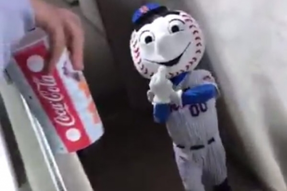 Mr Met Fired for Making Obscene Gesture at Fans
