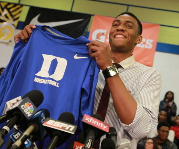 Parker Opts to Leave Duke