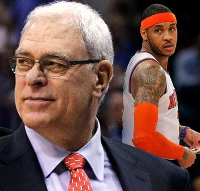 Knicks Shopping Melo to Cavs, Celtics, and Clips