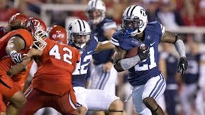 BYU's Top RB: Stinger, Concussion ... Lucky, for Now