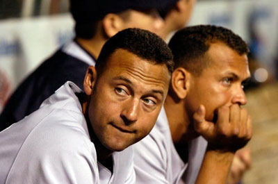 Jeter Returned, then Left; A-Rod Still in His Own World