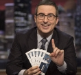 John Oliver Puts the Great Unwashed into Yankees' Posh Seats