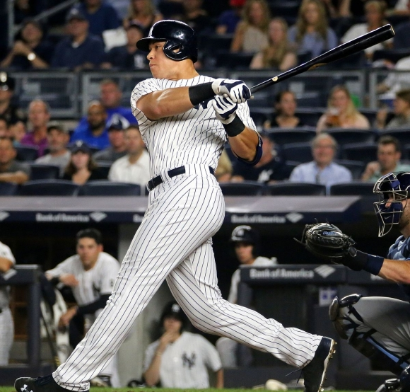 Judge Clips DiMaggio; Crushes 30th Rookie Dinger