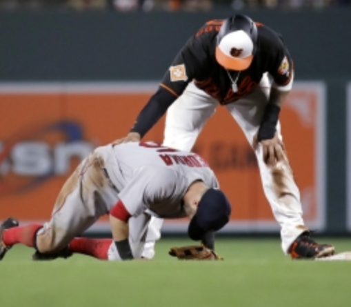 Manny Machado and the Red Sox Get Chippy