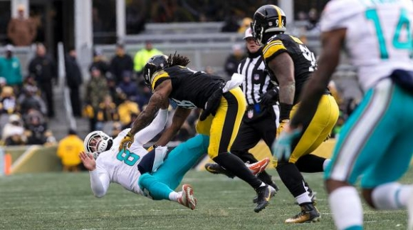 Dupree's Vicious Hit on Matt Moore Will Cost Him Dosh