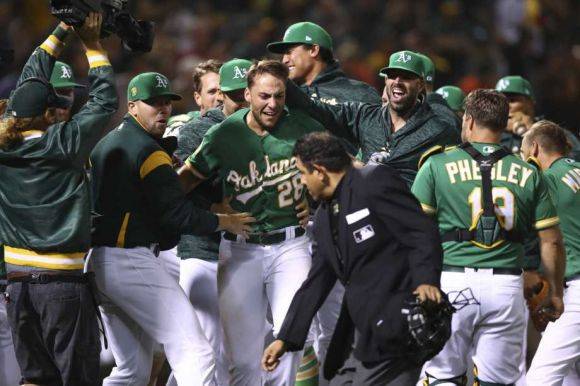 Athletics Go All Shock-&-Awe on Astros in Key Weekend Series Opener