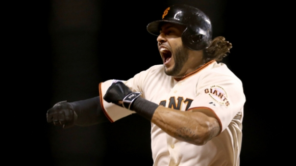No '85 Déja Vu: Giants Out-Blast Cardinals to Clinch Series Berth