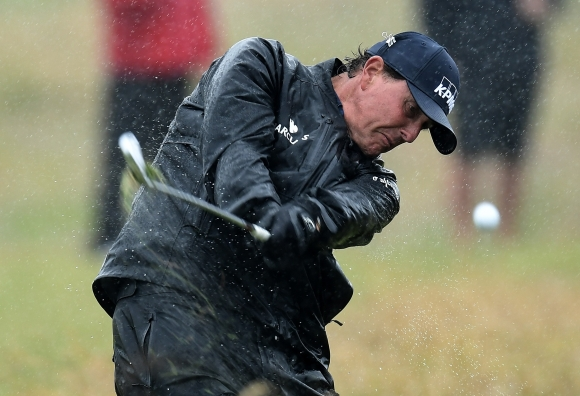 Mickelson Ignores History at the British Open ... So Far