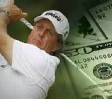 Mickelson Paid $1.9Mil Gambling Debts; Yo, Dude! We're Here!