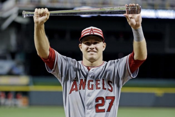 Trout Wins Second Straight All-Star MVP, Is Not of This World