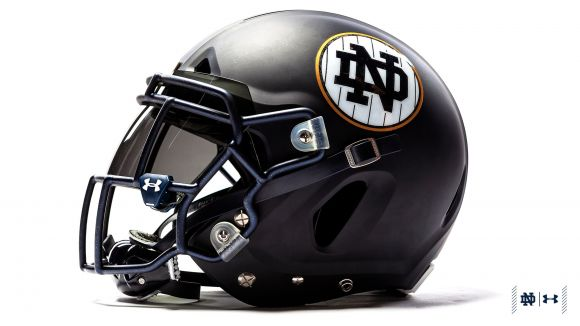 Notre Dame Aims to Make Pinstripes Their Latest Lucky Charm