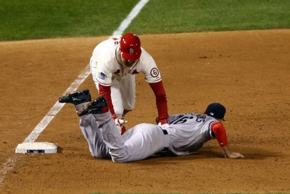 Cardinals Cash In on Crazy Play, Correct Call