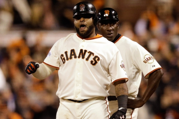 Giants Visit Finnegan's Wake, Even World Series 2 Games Apiece