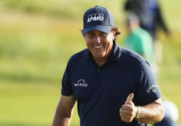 US Open: Mickelson's a Sprinter; Who Knew?