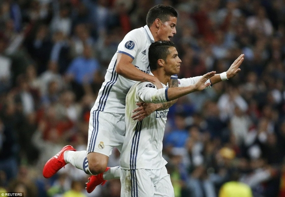 Real Madrid Pops a Pair at the Very End