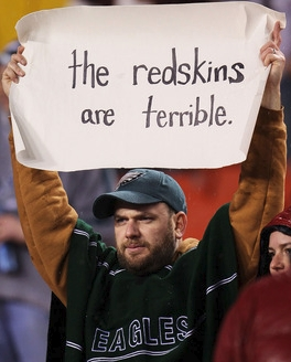 The Redskins D: Not Scaring Anyone