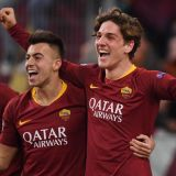 Fearless Zaniolo's Double Sends Roma to UCL First-Leg Victory